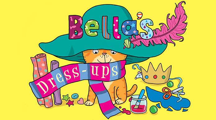Screenshot from the Bella's Dress-ups book