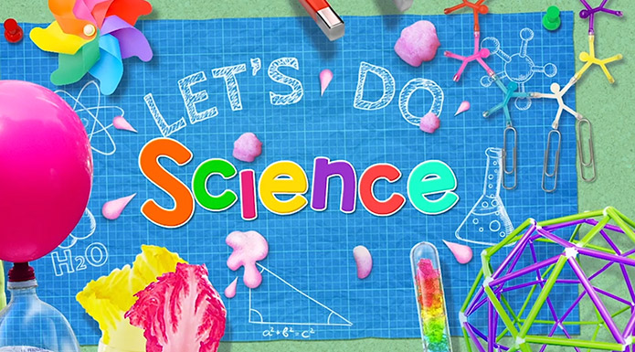 screenshot from Let's Do Science video