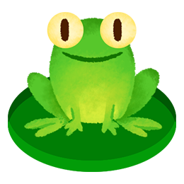 Frog on lilypad